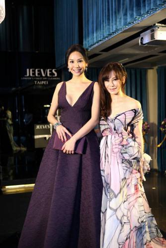 JEEVES TAIPEI 執行長 李翊菲CoCo 與 名模洪曉蕾